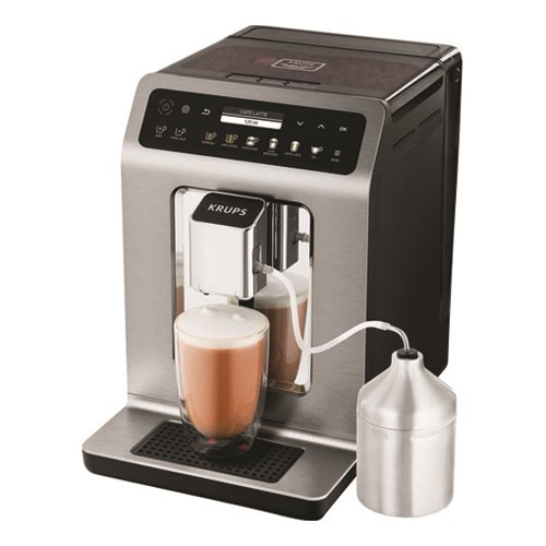 Evidence Plus Bean to cup coffee machine - EA894T40, 2-2.5 litre, Titanium