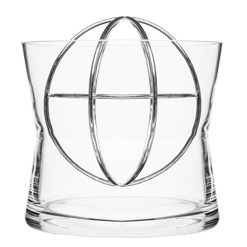 Sphere Large vase, Dia18 x 19cm, Stainless Steel