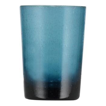 Set of 6 tumblers, H11 x D8cm - 340ml, mineral blue