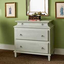 Usse Chest of drawers, L52 x W91 x H89cm, grey
