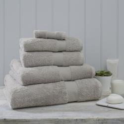 Egyptian Cotton Super jumbo bath sheet, 115 x 180cm, Pearl Grey