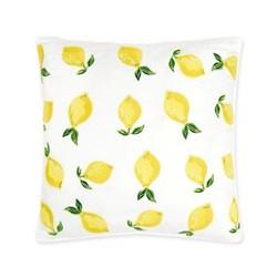 Lemons Cushion, H45 x L45cm, blanc