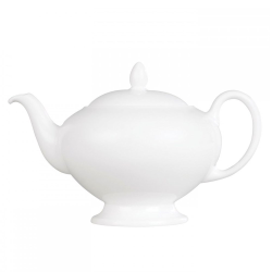 White China Teapot, 0.8 litre