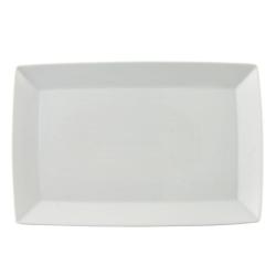 Loft Angular platter, 28cm, White