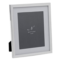"""Newton Photo frame, 8 x 10"""", silver plated"""