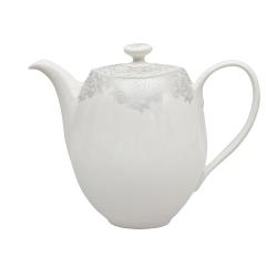 Monsoon - Filigree Teapot, 1.25 litre - 13 x 17cm, Silver