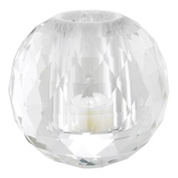 Tealight holder, clear