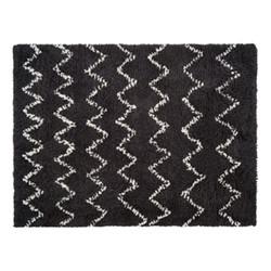 Flokati Rug, L170 x W240cm, charcoal/grey