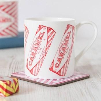 Tunnocks Caramel Wafer Repeat Mug, 8.5 x 9cm