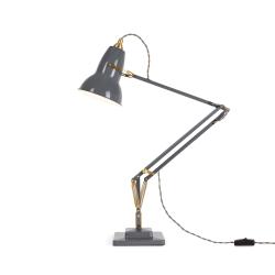 Original 1227 Desk lamp, Brass/Elephant Grey