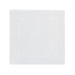 London Bath mat, 60 x 60cm, white