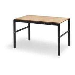 Reform Table, L125 x W71 x H73cm, anthracite black