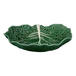 Cabbage Salad bowl, 35.5 x 32.5 x 7.8cm, green
