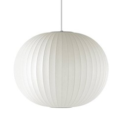 Ball Large pendant lamp, W68 x H59.5cm, white
