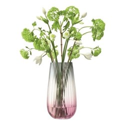 Dusk Vase, H28 x D14.7cm, pink/grey
