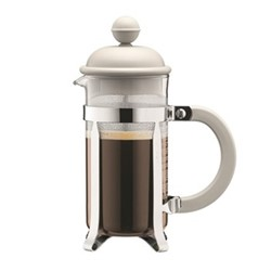 Caffettiera 3 cup coffee maker, 35cl, off white