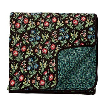 Campion Throw, L265 x W260cm, black