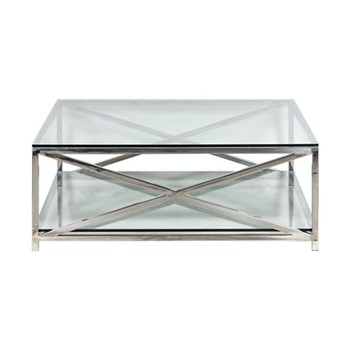 Square coffee table L120 x D120 x H45cm