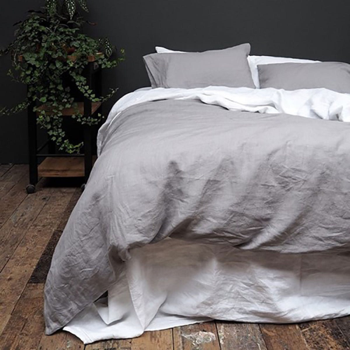 Bedding Bundle Kingsize set, 225 x 220cm, Dove Grey