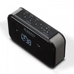 Ortus 2 DAB/DAB+/FM digital alarm clock radio, H10.6 x W17 x D6.4cm, black