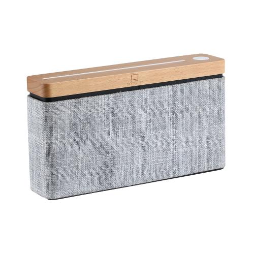 Square HiFi speaker, H18.5 x W4.5 x D10cm, Natural Maple