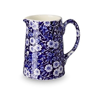 Calico Jug small, 28.4cl - 1/2pt, blue