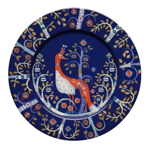 Taika Plate, 22cm, Blue