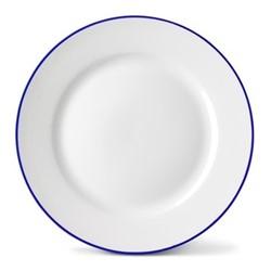 Rainbow Collection Side plate, 20cm, lapis lazuli rim