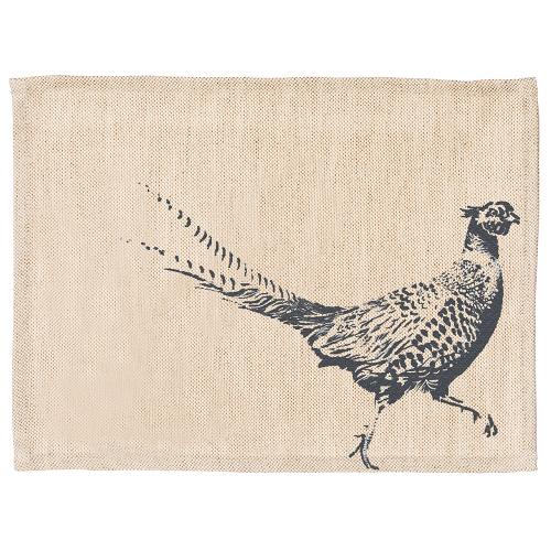 Pheasant Set of 2 placemats, 40 x 30cm