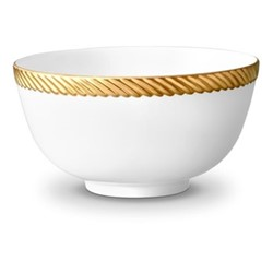 Corde Cereal bowl, 14cm, gold
