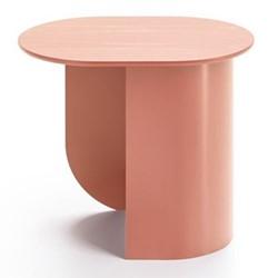 Plateau Side table, 32 x 39.5 x 44cm, terra/ash