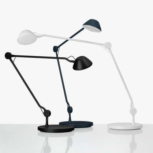AQ01 Table lamp, H44 x W45 x D20cm, Black