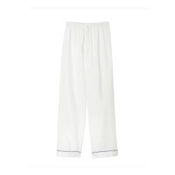 Pyjama trousers - medium, White
