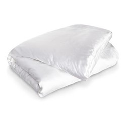 St Tropez Super king size duvet cover, 260 x 220cm, white/navy