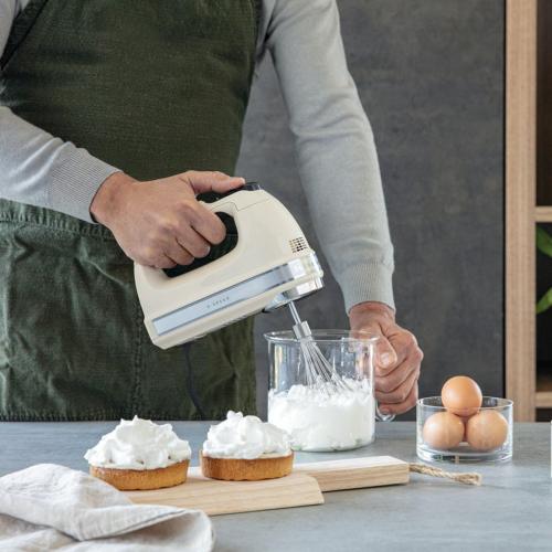 Hand mixer, 9-speed, Almond Cream