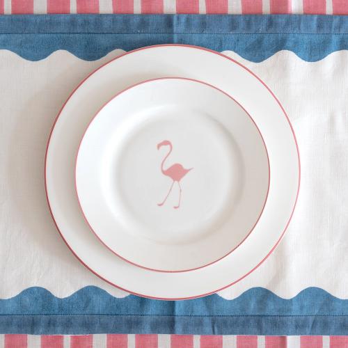 Flamingo Side plate, Dia21cm