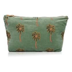 Kenya Collection - African Palmier Travel pouch, 20 x 30cm, khaki