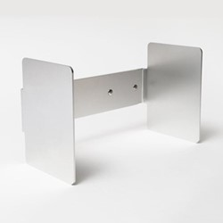 Penuin Huddle by Jasper Morrison Pair of bookends, L24 x D13 x H15cm, aluminium