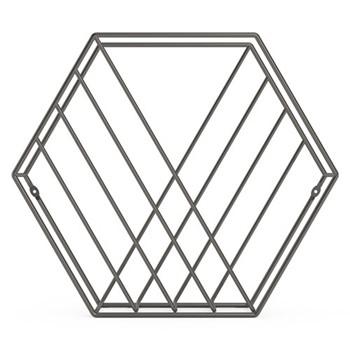 Zin Magazine rack, 38 x 12 x 33cm, titanium