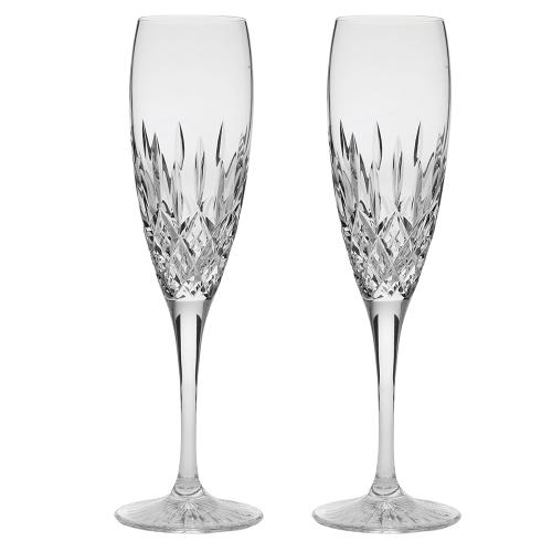 Sandringham Pair of Champagne flutes