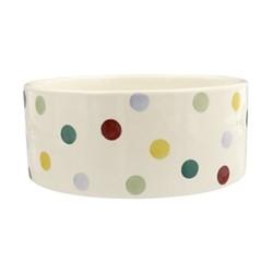 Polka Dot Large pet bowl, D18.5 x H7.5cm - 1.14 litre