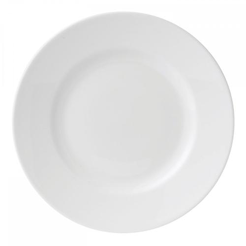 White China Dessert plate, 20cm, Test