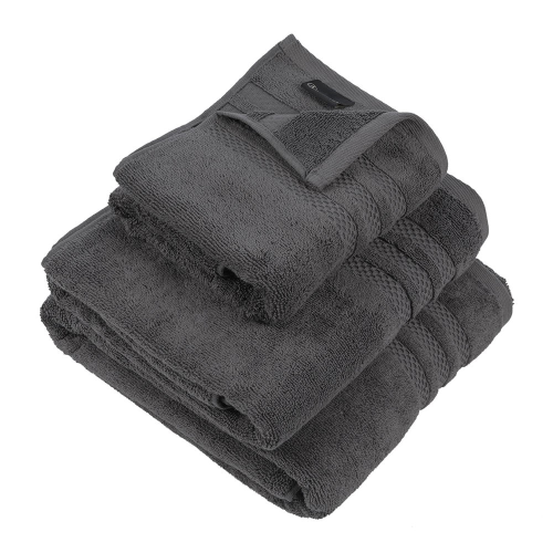 Egyptian Cotton Hand towel, 50 x 90cm, Charcoal