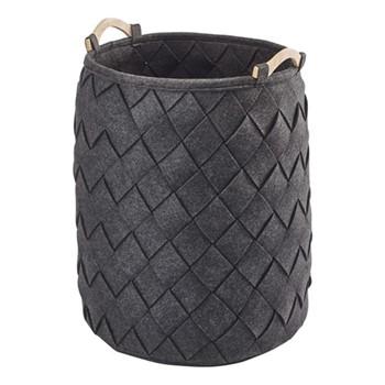 Amy Laundry basket, 40 x 60cm, dark