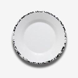 Enamel small flat plate 21cm