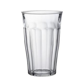 Set of 6 glass tumblers D9.4 x H14.5cm - 50cl