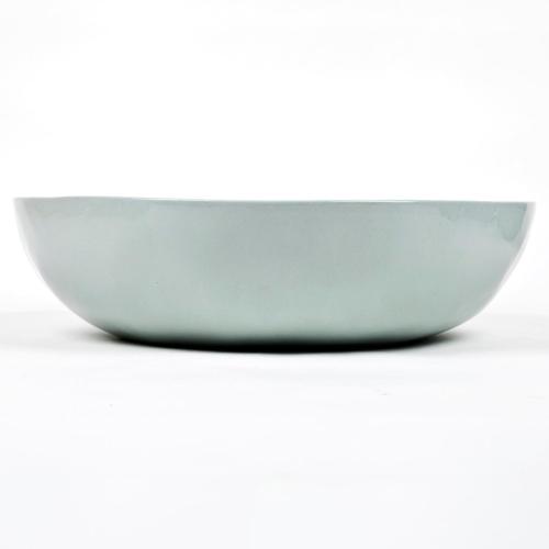 Serving/salad bowl, D30 x H7cm, Pale Blue