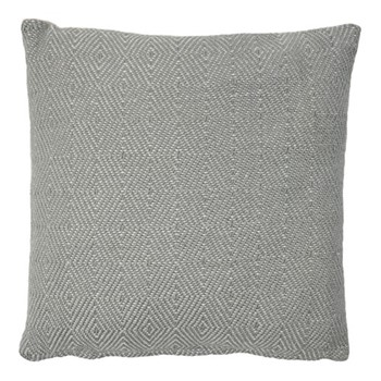 Diamond Cushion, L45 x W45cm, dove grey