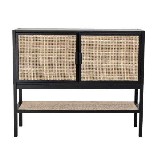 Alvia Cabinet, H100 x W35 x L120cm, Black