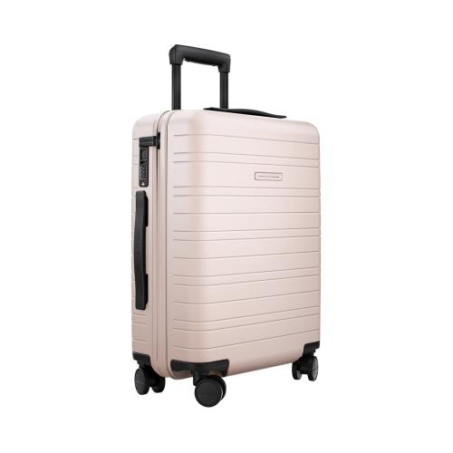 H5 Cabin trolley suitcase, W40 x H55 x D20cm, Pale Rose